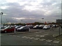 NS5170 : Car park at Sainsbury's, Great Western Retail Park by Stephen Sweeney