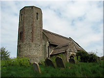 TM3898 : St Gregory's Church, Heckingham (3) by Evelyn Simak