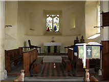 TM3898 : St Gregory's Church, Heckingham - chancel by Evelyn Simak