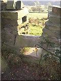 SE0927 : Stile, Fall lane, Shibden Dale, Northowram by Humphrey Bolton