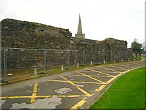J5081 : St Malachy's Wall by Rossographer