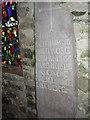 SS1496 : The Caldey Stone, Caldey Island by Humphrey Bolton