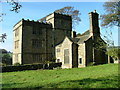 SK2383 : North Lees Hall, near Hathersage by J147