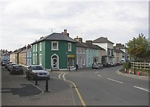 SN4562 : Heol y Gwyn and Alban Square, Aberaeron by Humphrey Bolton