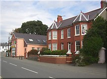 SN4562 : Houses, South Road, Aberaeron by Humphrey Bolton
