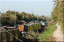 ST8359 : 2007 : Canal Towpath near Widbrook by Maurice Pullin
