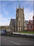 SN4562 : Holy Trinity Church, Aberaeron by Humphrey Bolton