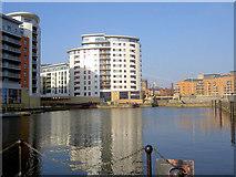 SE3032 : Clarence Dock Leeds by Steve  Fareham