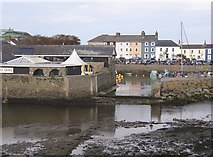 SN4562 : Entrance to the inner harbour, Aberaeron by Humphrey Bolton