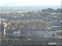 SH4862 : The Caernarfon Barracks in Llanberis Road viewed from Twthill by Eric Jones