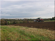 O1474 : Ploughing at Donacarney, Co. Meath by Kieran Campbell