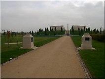 SK1814 : AFM at the National Memorial Arboretum by John Plumb