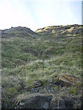 TA0197 : Unstable cliff north of Hayburn Wyke by Phil Catterall