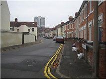 SU1484 : Swindon: Tennyson Street by Nigel Cox