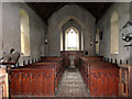 TG4612 : St Mary's Church, Thrigby - view west by Evelyn Simak