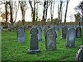 NY1353 : St Paul's Church, Causewayhead, Graveyard by Alexander P Kapp
