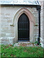 NY1353 : St Paul's Church, Causewayhead, Doorway by Alexander P Kapp
