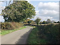 SJ5133 : Lane near Green Acre Farm by John Haynes