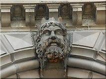 J3474 : Head, Custom House, Belfast (5) by Albert Bridge