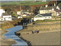 SH1726 : A pleasant way of spending a November afternoon at Aberdaron by Eric Jones