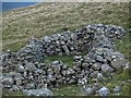 NY3434 : Old shelter, Carrock Fell by Chris Eilbeck