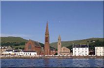 NS2059 : Largs Churches by Eddie Dowds