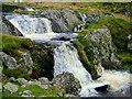 SH6769 : Waterfall on Afon Goch by George Tod