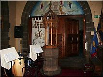 SJ5798 : St Thomas Church, Ashton-in-Makerfield, Font by Alexander P Kapp