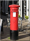 NY9364 : Victorian postbox, Market Place by Mike Quinn