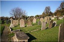 SK5276 : St.Lawrence's churchyard by Richard Croft