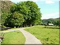 SH5947 : Riverside Path by Afon Glaslyn by George Tod