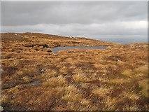 NN6854 : Boggy pools, Geal Charn by Richard Webb