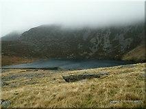 SH5150 : The Top Lake of Llynnau Cwm Silyn by John Fielding
