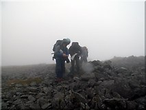 SH5150 : Finding our way off Craig Cwm Silyn Summit by John Fielding