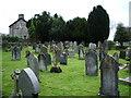 SD6279 : Holly Trinity Church, Casterton, Graveyard by Alexander P Kapp