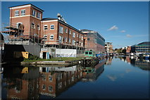 SO8453 : Diglis Basin, Worcester by Philip Halling