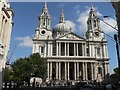 TQ3181 : City of London: St. Paul's Cathedral: west front by Chris Downer