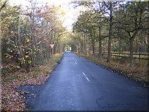 TQ0084 : Fulmer: Black Park Road by Nigel Cox