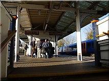 TQ2575 : Wandsworth Town station by Derek Harper