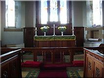 SD4455 : Christ Church, Glasson, Altar by Alexander P Kapp