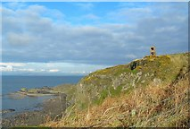 NS2414 : Old Observation Post by Mary and Angus Hogg