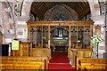 NY0106 : The Parish Church of St John, Beckermet, Screen by Alexander P Kapp