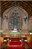 NY0106 : The Parish Church of St John, Beckermet, Altar by Alexander P Kapp