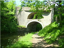 SD9050 : Double Arched Bridge at East Marton by George Tod