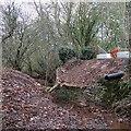 SO6587 : Winterburn Bridge Repairs, Shropshire by Roger  Kidd