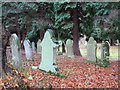 NY9365 : Churchyard, St. John Lee by Mike Quinn