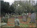 NY9365 : Churchyard, St. John Lee (3) by Mike Quinn