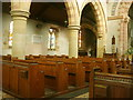 NY1439 : St Cuthbert's Church interior, Plumbland by William Metcalfe