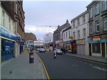 NS3975 : Looking back along High Street by Stephen Sweeney