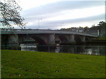 NS3975 : Bridge over the River Leven by Stephen Sweeney